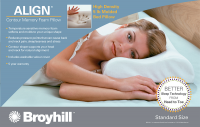 Broyhill™ Align Contour Memory Foam Pillow