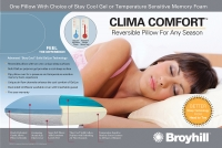 Broyhill™ Clima Comfort Gel Molded Pillow