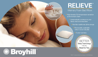 Broyhill™ Relieve Memory Foam Traditional Bed Pillow