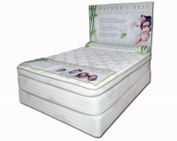 Nature's Rest Lotus Blossom Pillow Top 15'' Talalay Latex Bed