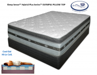 Sleep Sense™ Hybrid Plus Series 16'' Olympia PT by Spring Air