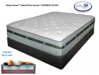Sleep Sense™ Hybrid Plus Series 15'' Olympia Plush by Spring Air