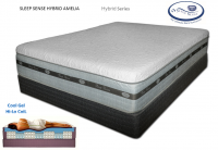 Sleep Sense Hybrid Gel Smooth Top Series 14'' Amelia Spring Air