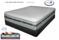 Sleep Sense Hybrid SmoothTop Series 15'' Nantucket by Spring Air