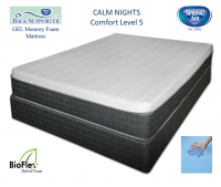 Spring Air 10 Inch Calm Nights Back Supporter Gel Memory Foam