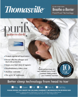 Thomasville™ Purify® Breathe-a-Barrier® Mattress Protector