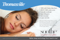 Thomasville™ Soothe® Talalay Latex KING Pillow