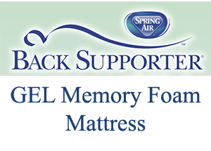 Spring Air Back Supporter Gel Beds