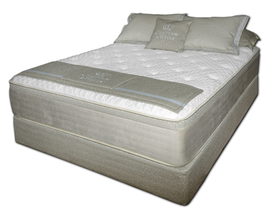 Chattam & Wells 16 Inch Luxury Firm Mattress by Spring Air