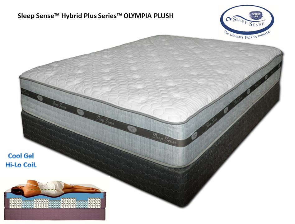 Sleep Sense Hybrid Plus Series OLYMPIA PLUSH